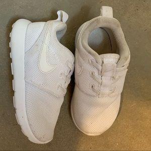 White Nike Toddler Shoes